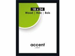 Nielsen - Accent Wood - fotokader - 18x24 cm - zwart