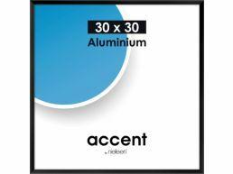 Nielsen - Accent - aluminium fotokader - 30x30 cm - zwart
