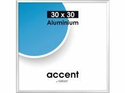 Nielsen - Accent - aluminium fotokader - 30x30 cm - zilver