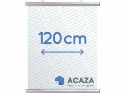 Arti Teq - poster ophangsysteem - poster snap - 120 cm - zilvergrijs