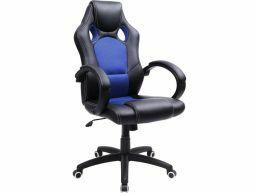 Bureaustoel gaming - blauw
