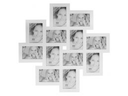 Deknudt - multifoto 12 foto's - 10x15 cm - wit
