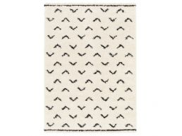 Tapijt - modern - 160x230 cm - birdy - crème