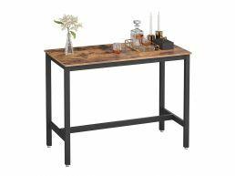 Middelhoge bartafel - vintage - 120x90x60 cm - vintage bruin