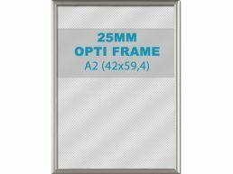 Klikkader Opti - 25 mm - A2  - zilvergrijs