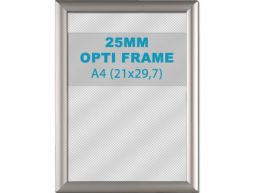 Klikkader Opti - 25 mm - A4 - zilvergrijs