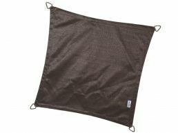Coolfit - schaduwzeil - vierkant 3,6x3,6 m - antraciet