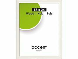 Nielsen - Accent Wood - fotokader - 18x24 cm - wit