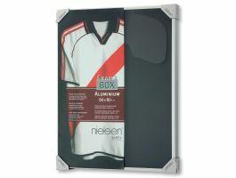 Nielsen - framebox voor t-shirt - 60x80 cm - zilver