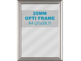 Klikkader Opti - 25 mm - A4