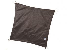 Coolfit - schaduwzeil - vierkant 5x5 m - antraciet